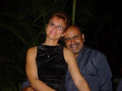 Bertha y Fidel