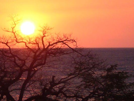 Sunset view from Solarium