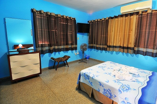 Apartment: Blue room 1 double