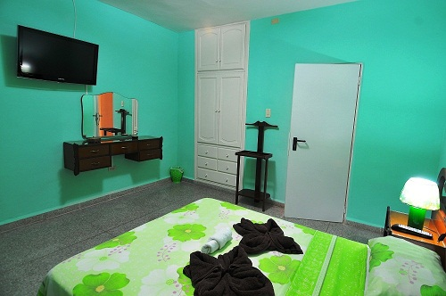 Apartment: Green room 2 double