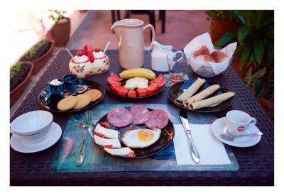 Dinner in Terrace