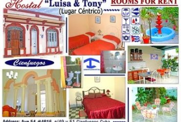 Casa Hostal Luisa & Tony
