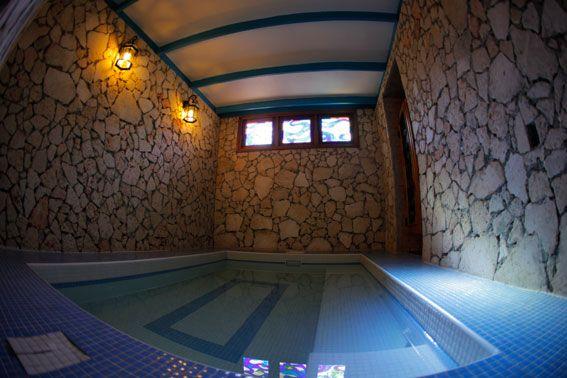 Small pool inside