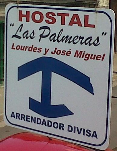 Poster outside