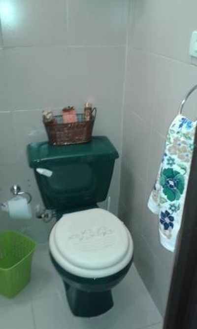 Bathroom in the Hall