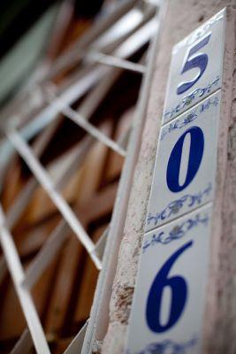 Number in entrance