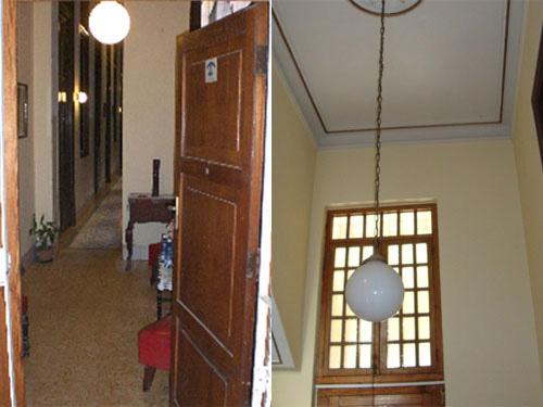Entrance collage