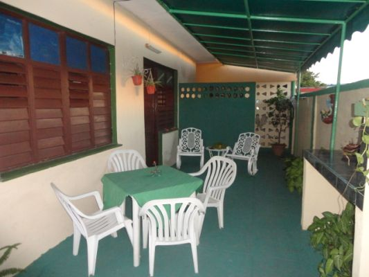 Terrace and dining area