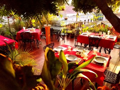 Dining Area in Terrace