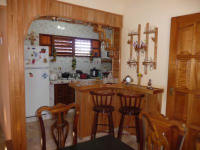 Dining Room, Minibar and Kitchen