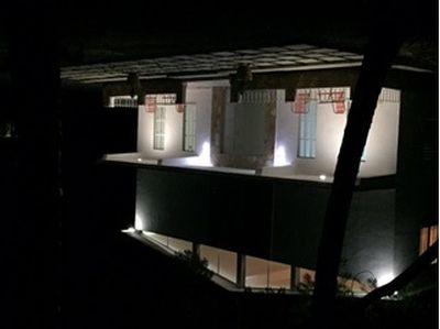 Outside in Night