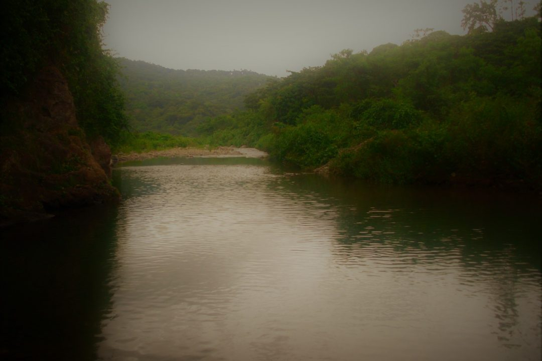 A river in the Sierra Maestra mountains