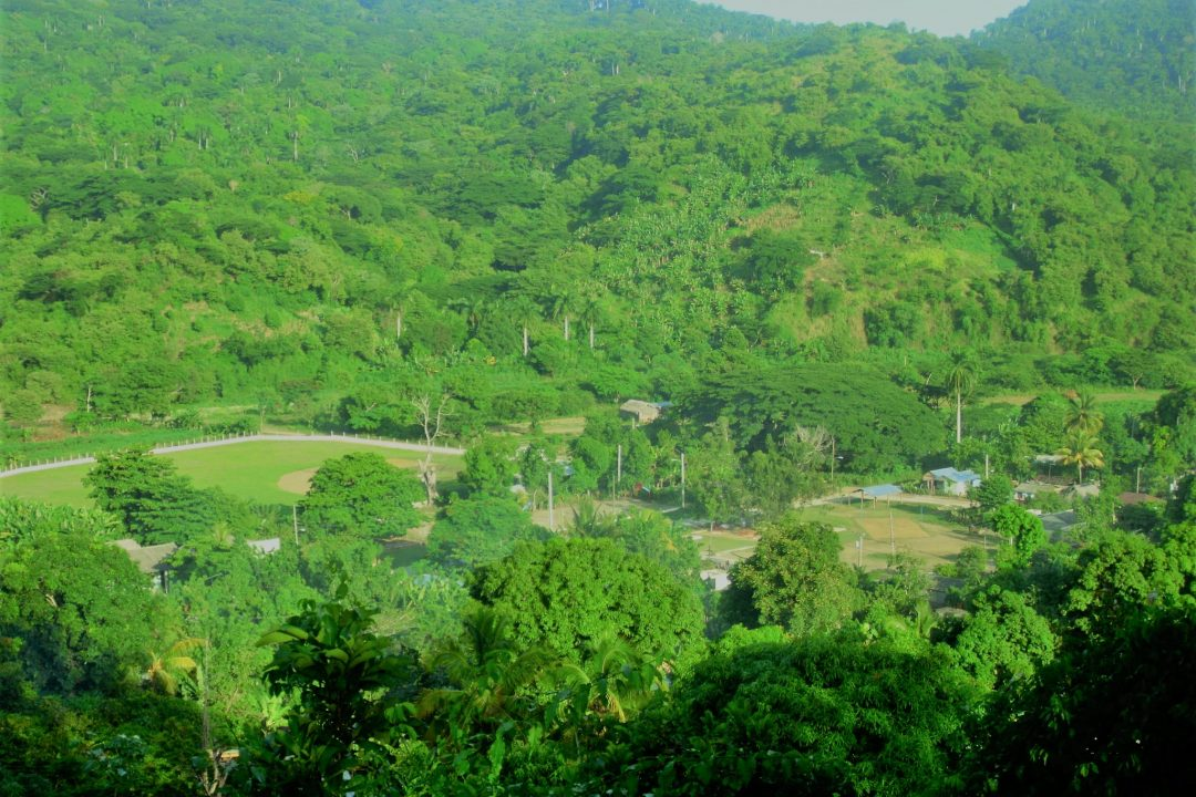 A small village in the Sierra Maestra mountains